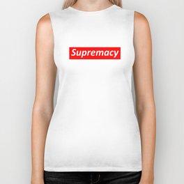 Supremacy Logo Biker Tank