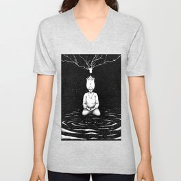 Seeing the Truth Unisex V-Neck