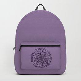 Haunted Mansion Halloween - Purple Webs Backpack