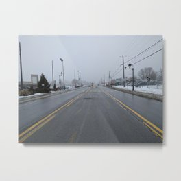 The Mist Of Life Or Death? Metal Print