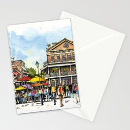Chartres Street, New Orleans Stationery Cards