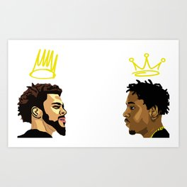 2 Kings. Kendrick Cole Art Print