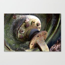 Old Tire Canvas Print