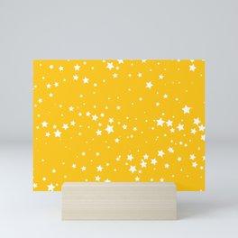 Yellow Stars Mini Art Print