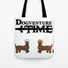 Dogventure Time Tote Bag