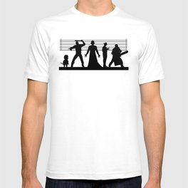 The Usual Horror Suspects T-shirt