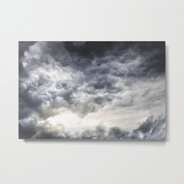 Cloudio di porno Metal Print
