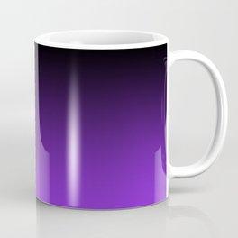 Black and Blue Violet Ombre Coffee Mug