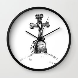 Science is Not Good or Bad Wall Clock