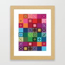 Azulejos Framed Art Print