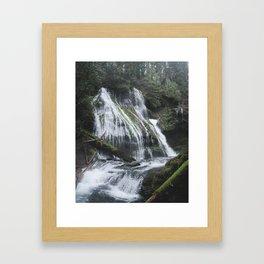 Panther Creek Falls, WA Framed Art Print