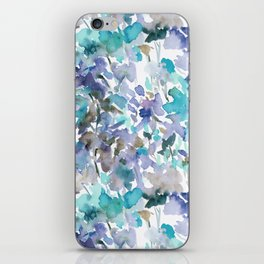 Local Color Blue Mint iPhone Skin