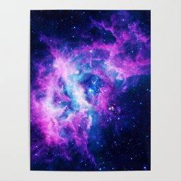 Dream Of Nebula Galaxy Poster