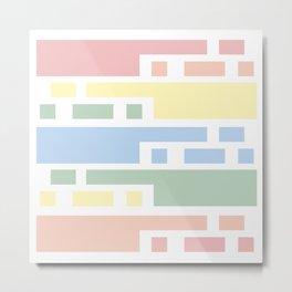 Colorful lines #society6 #decor #buyart #artprint Metal Print