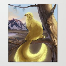 Wingless Griffin Canvas Print