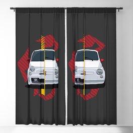 500 Abarth Blackout Curtain