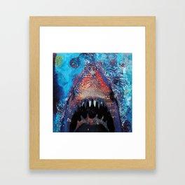 Great Whitey Framed Art Print