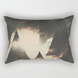 The mountains are awake Rectangular Pillow