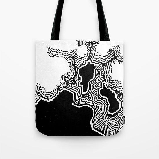 Inked Tree Tote Bag