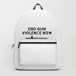 End Gun Violence Now Bring Back The Sword Backpack