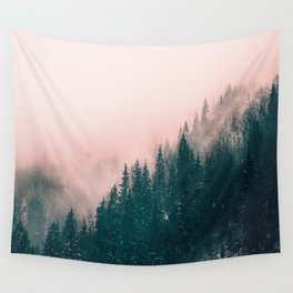 Pink Haze Wall Tapestry