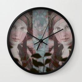 Lady Evangeline Wall Clock