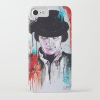 clockwork orange iPhone & iPod Cases featuring A Clockwork Orange - ALEX by Denise Esposito