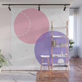 Circle Pattern Wall Mural