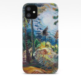 Emily Carr - British Columbia Landscape - Canada, Canadian Oil Painting - Group of Seven iPhone Case