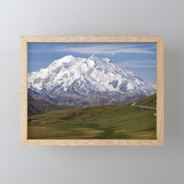 Denali National Park, Alaska Framed Mini Art Print