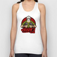 gym Tank Tops featuring Jacon's Gym by Buby87