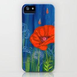 Poppy Night iPhone Case