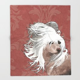 Chinese Crested  Throw Blanket