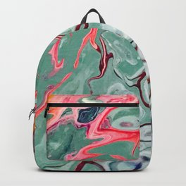 Stormy Weather Flow Acrylic Art Backpack