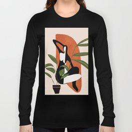 Abstract Female Figure 20 Long Sleeve T-shirt