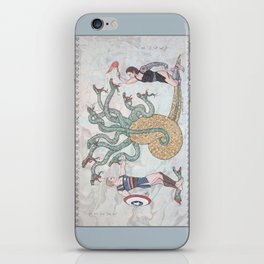Steve, Bucky and the Hydra iPhone Skin