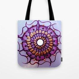 Purple Sunflower Tote Bag