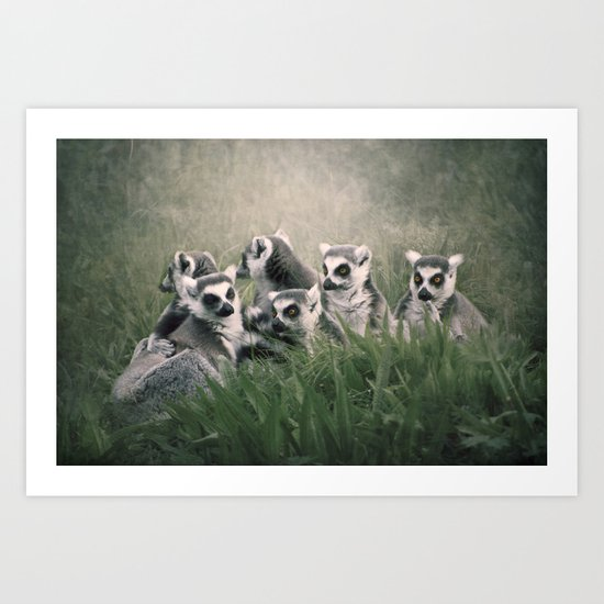 The Family... Art Print