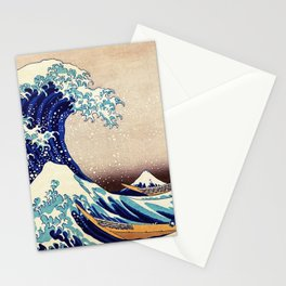 Great Wave Off Kanagawa Stationery Cards