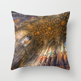 The Thistle Chapel St Giles Cathedral Edinburgh Throw Pillow