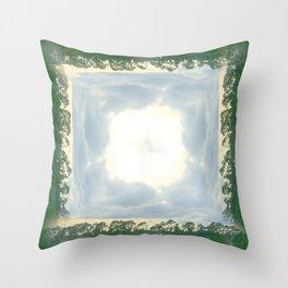roadtrip: lace Throw Pillow