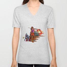 Dora the Wanderer Unisex V-Neck