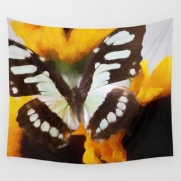 Summer Butterfly Wall Tapestry