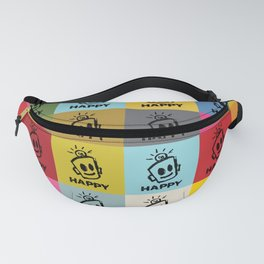 HAPPY SQUARES Fanny Pack
