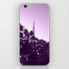 BURJ RISE iPhone Skin