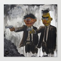 japanese Canvas Prints featuring Pulp Street by Beery Method