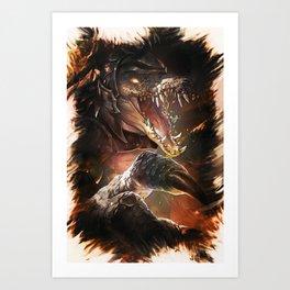 League of Legends RENEKTON Art Print