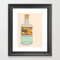 Chloroform Phoenix Framed Art Print