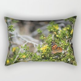Painted Lady in Coachella Valley Wildlife Preserve Rectangular Pillow