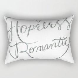 Hopeless Romantic. Rectangular Pillow
